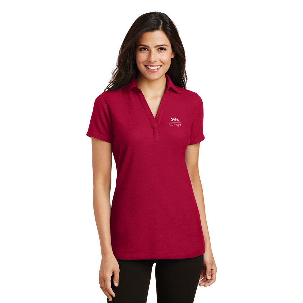 PORT AUTHORITY® SILK TOUCH LADIES' POLO SHIRT